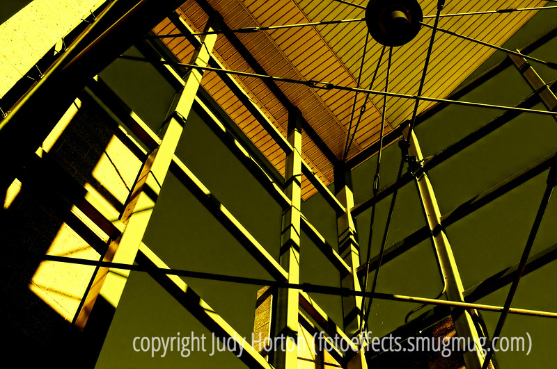 Light and Shade - shooting up at a small tower at a local outdoor mall.<br /> <br /> Thanks for all the comments on my night scene.  Very encouraging to me.<br /> <br /> Well, the weekend is here and I hope you are all able to enjoy it!  Have fun today!