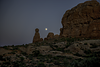 10/8/12 - Moon rising over Arches National Park<br /> <br /> Thanks for your comments on my shot of the clematis seedheads.  So many wonderful images today on smugmug...really enjoyed looking through your work!<br /> <br /> Constructive criticism is always welcome.