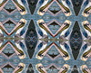 "9/23/12 - My submission for Indigo's Prostate Cancer Awareness ""Blue"" campaign.  I'm posting a day early, since we'll be on the road on Sunday and I won't have Internet accessl  This kaleidoscope was created from a shot of a Pelican; best viewed in the largest size.<br /> <br /> Have a great weekend!"