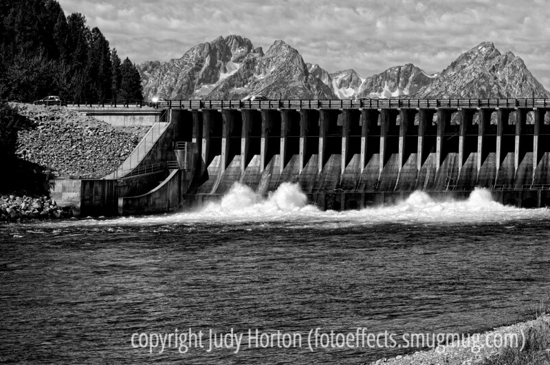 8/5/12 - Jackson Lake Spillway, Grand Teton National Park; best viewed in the larger sizes<br /> <br /> Thanks so much for all your comments on my shot of downtown Dubois.  I feel very honored you took the time on a day when smugmug had so many other outstanding shots!  I certainly enjoyed checking them out!