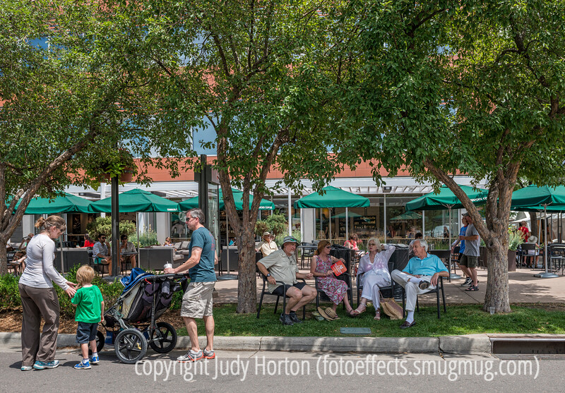 Cherry Creek Street Scene