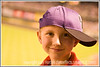 Day 22 - A happy little boy with a baseball cap on sideways