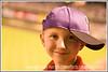 Day 22 - A happy little boy with a baseball cap on sideways