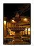 "A fountain in Tlaquepaque shopping center in Sedona; best viewed in the larger sizes; This isn't that great a shot, but I was proud of the fact that it is fairly sharp, even though I handheld the camera at 1/15 second shutter speed.<br /> <br /> You smugmuggers are so smart.  Many of you correctly identified the saying as ""Look before you leap.""  Here is another one for you to test your mental quickness:  Eschew the implement of correction and vitiate the scion.<br /> <br /> Thanks for all the nice comments on my shot of the smoky controlled fire and firefighters.  We had been driving through the Arizona countryside and we could see the smoke from miles and miles away.  Imagine my excitement when we finally came up right alongside it.  I'm usually not that lucky.  Hope your week is going well so far."