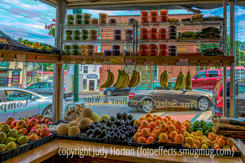 Grocery in Camden, ME - another older image reprocessed