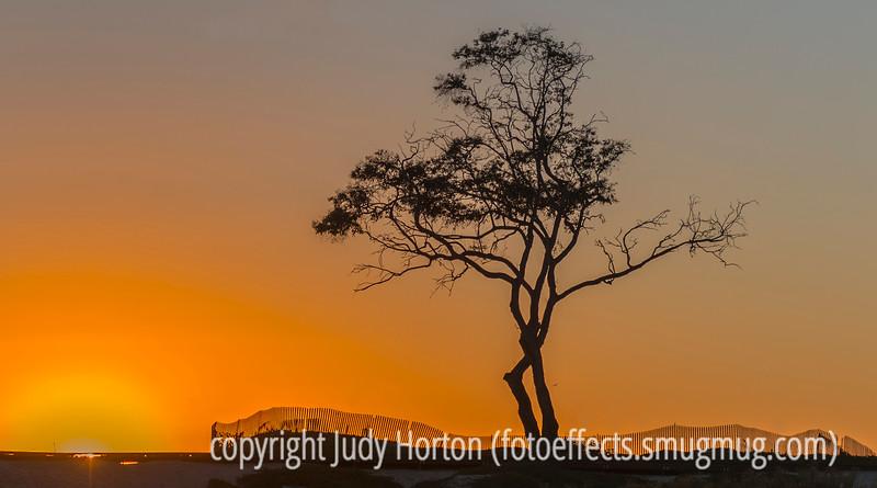 Sunset at Carpinteria Beach, California