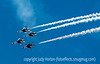 US Air Force Thunderbirds at Academy Graduation