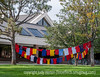 11/13/14 - At Colorado College, students create t-shirts to support Domestic Violence Awareness and hang them on clotheslines.<br /> <br /> Thanks for your comments on my shot of the interior of the Colorado Springs Fine Arts Center.  I thought the wooden shapes were frames for boats, but I may be wrong.  There did not seem to be any plaques that explained what they are.