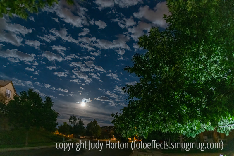 Full Moon with Clouds