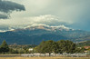 Pike's Peak, shot from the car on the way to exercise class