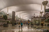 11/30/14 - Denver Airport; best viewed in the largest size to see all the people<br /> <br /> Thanks for your supportive comments on my shot of the November snowstorm.