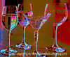 Still Life with Goblets - painterly version