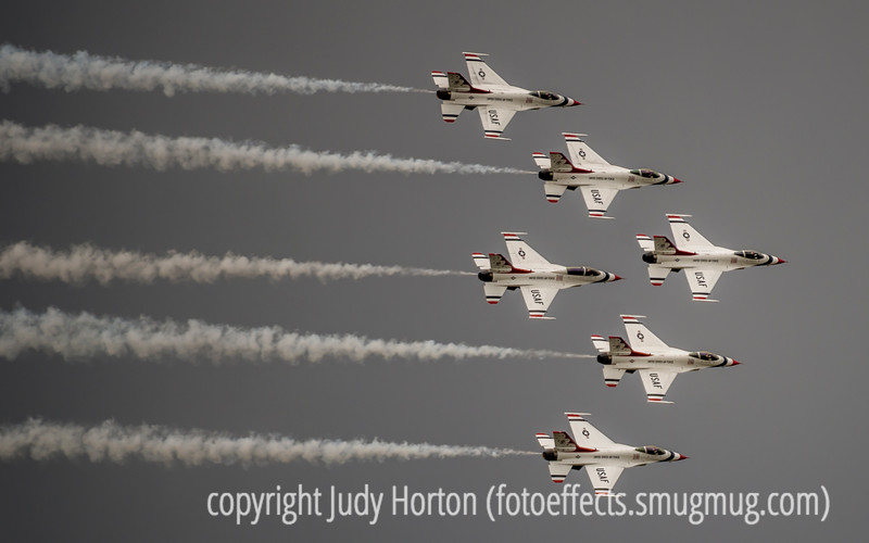 5/30/15 - Thunderbirds during their performance at the US Air Force Academy graduation ceremonies.<br /> <br /> Thanks for your comments on my shot of the girouette for the lexicon challenge.  I loved all your entries for the challenge.  This one has been so much fun and such a great learning experience.  I am awed by your vocabularies.