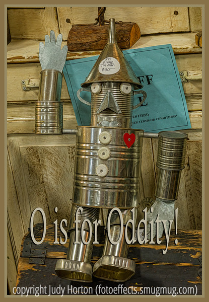 O is for Oddity!