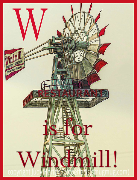 W is for Windmill!
