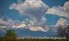 9/22/15 - Pike's Peak with some neat clouds, taken right at the beginning of summer.<br /> <br /> Thanks for your comments on my shot of