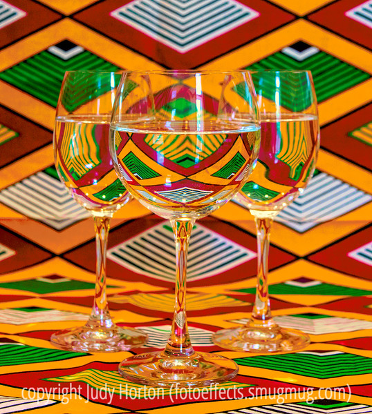 Refractions in Water Goblets