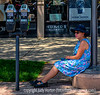 Taking a Break... - at the Cherry Creek Arts Festival