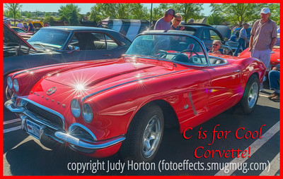 C is for Cool Corvette!