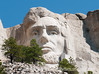 Lincoln at Mt. Rushmore, Up Close and Personal