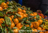 11/28/14 - Oranges at Whole Foods; I'm not crazy about the dof but I thought this was such a neat display.<br /> <br /> Thanks for your comments and Thanksgiving wishes on my shot of the geranium in the snow.  Hope all of you had a great day!