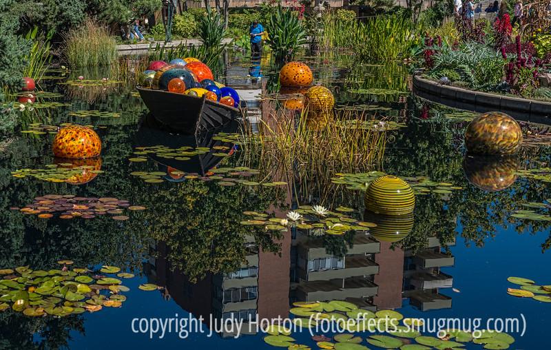 Chihuly Glass at the Denver Botanic Gardens