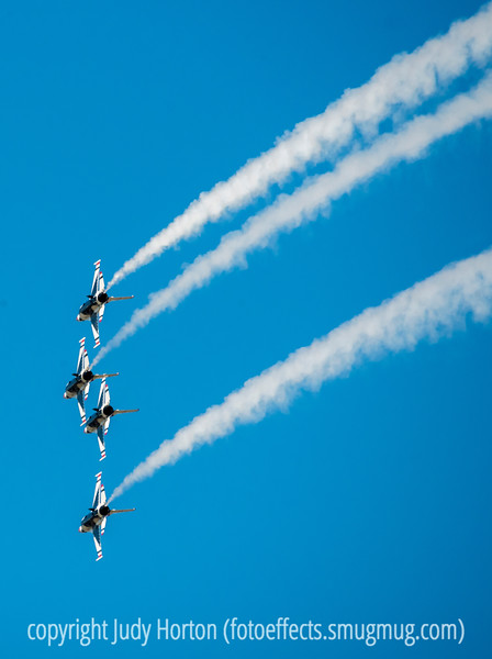 U.S. Air Force Thunderbirds and the USAFA Graduation