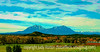 Spanish Peaks in Southern Colorado - another older photo reprocessed