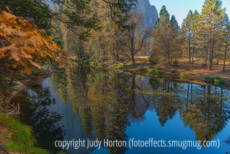 Autumn Reflections in Yosemite