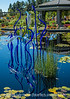 Chihuly Glass Sculpture at the Denver Botanic Gardens