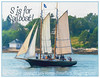 """S is for Sailboat!   This is the first of my images for """"S"""".  The others follow this one. Links for those participating in the alphabet challenge can be found below."""