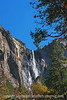 Bridal Veil Falls, Yosemite, in Autumn