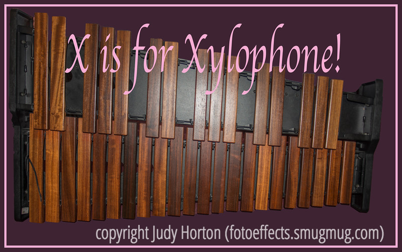X is for Xylophone!