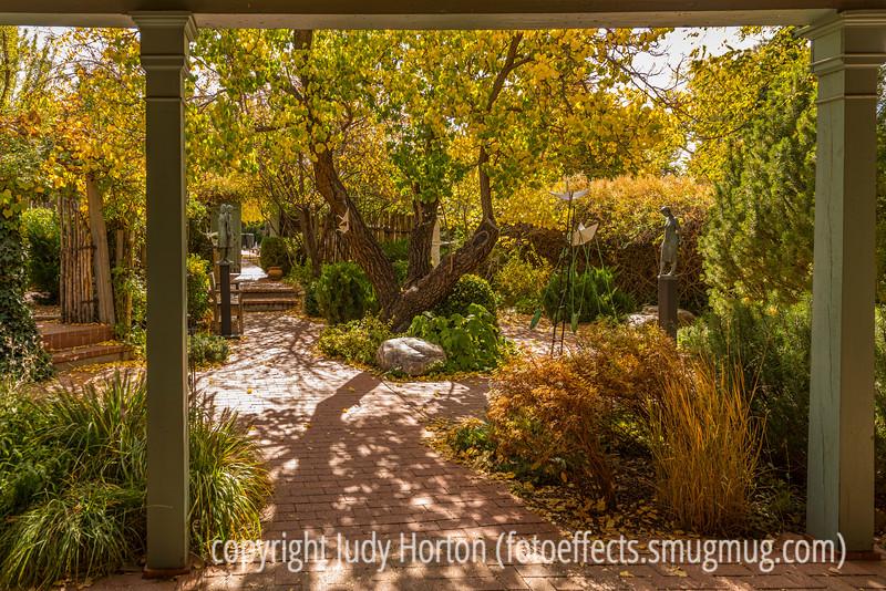 Sculpture Garden in Santa Fe Gallery