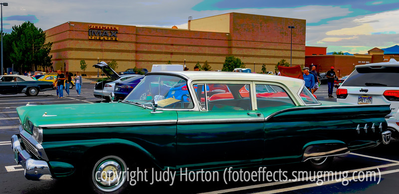 Vintage Ford Galaxy - Linda thinks it is 1959 Model