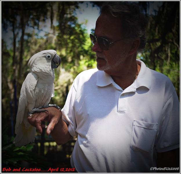 Bob and Cockatoo-April 12, 2012-P1180575