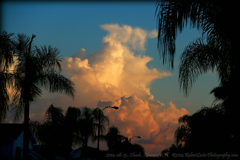 2014-08-13...Clouds...Clearwater,Fl.   ©2014 RobertLesterPhotography.com