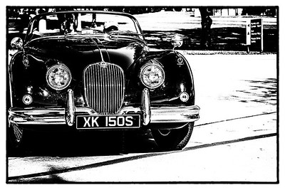 X is for Jaguar XK 150S