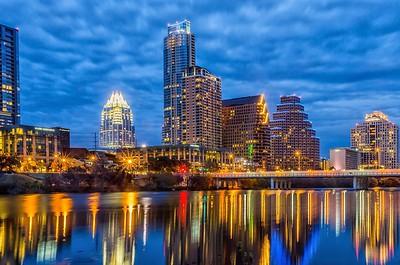11/1/2018....Austin, Texas Skyline.
