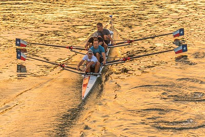 Rowing In Austin, Texas