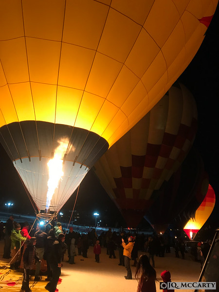 Stumbled upon the fun-filled Steamboat Cowboy Up Party and Balloon Glow.