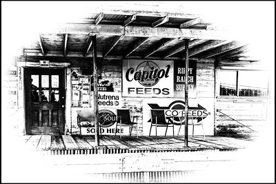 Feed Store - Dripping Springs, Texas.