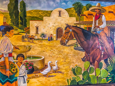 Casita Mural