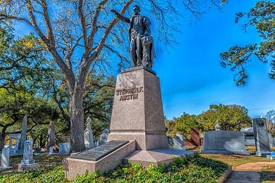 Stephen F Austin Grave