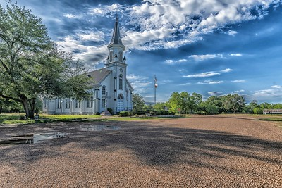 Painted Church - Dubina, Texas.