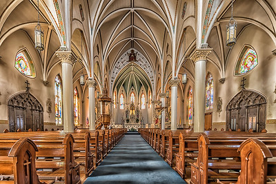 St Mary's Catholic Church - Fredericksburg, Texas