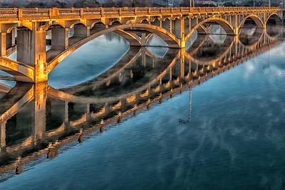Lamar Bridge Reflections