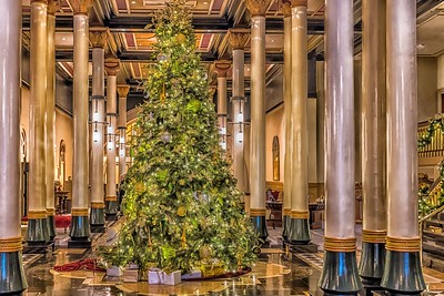 Christmas at the Driskill Hotel - Austin