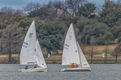 Sailing at White Rock Lake