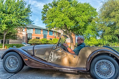 Driving a Morgan